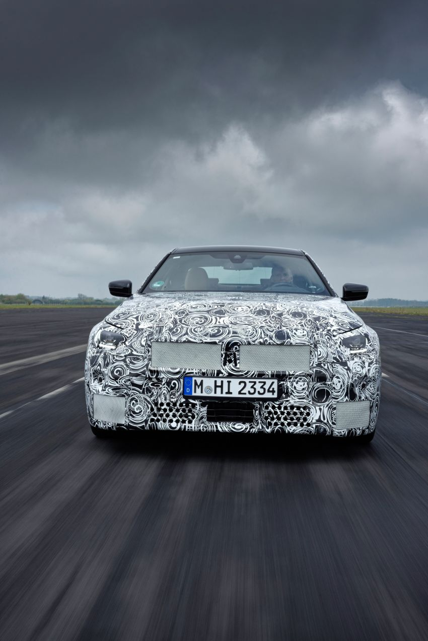 2022 BMW 2 Series Coupe officially teased before debut – M240i xDrive to lead variant range with 374 PS Image #1294196