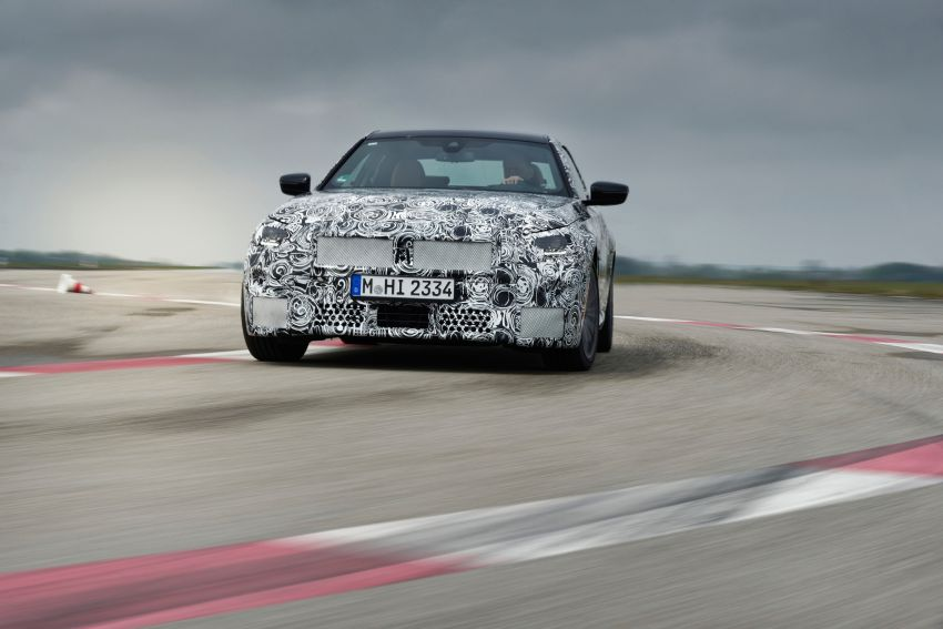 2022 BMW 2 Series Coupe officially teased before debut – M240i xDrive to lead variant range with 374 PS Image #1294217