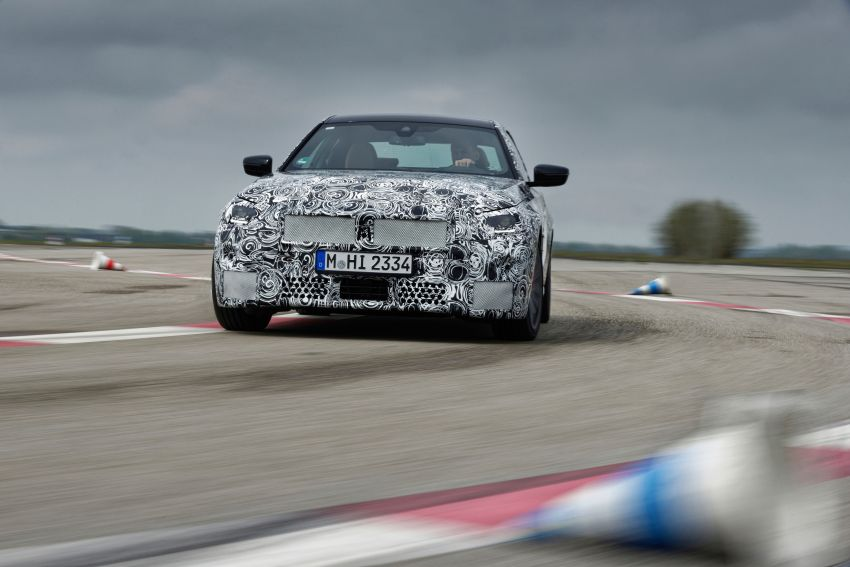 2022 BMW 2 Series Coupe officially teased before debut – M240i xDrive to lead variant range with 374 PS Image #1294218