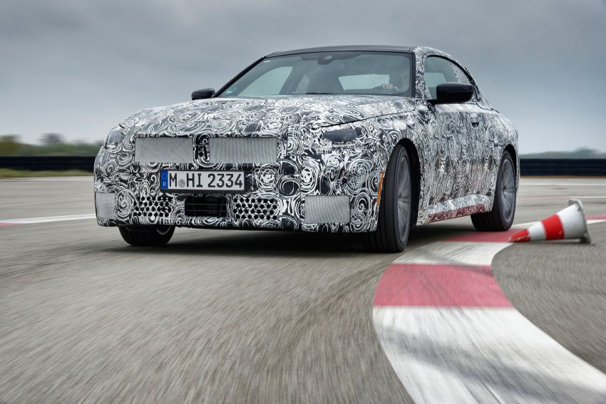 2022 BMW 2 Series Coupe officially teased before debut – M240i xDrive to lead variant range with 374 PS Image #1294220