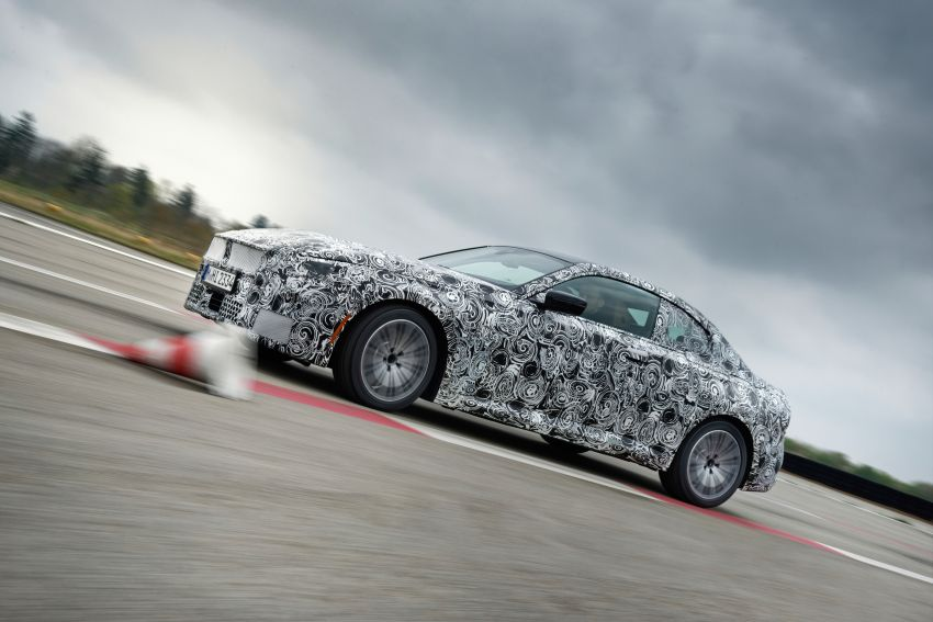 2022 BMW 2 Series Coupe officially teased before debut – M240i xDrive to lead variant range with 374 PS Image #1294221