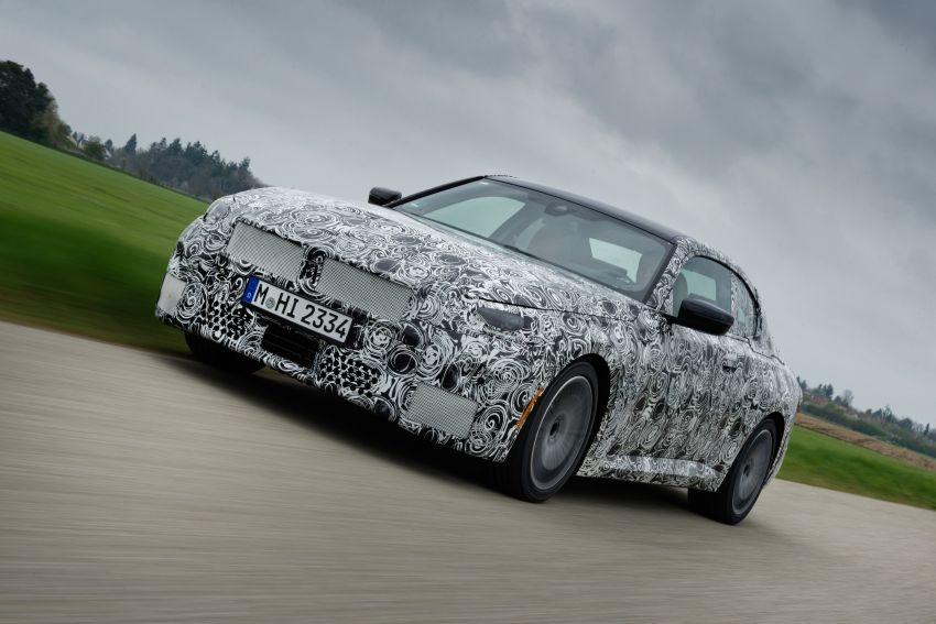 2022 BMW 2 Series Coupe officially teased before debut – M240i xDrive to lead variant range with 374 PS Image #1294225