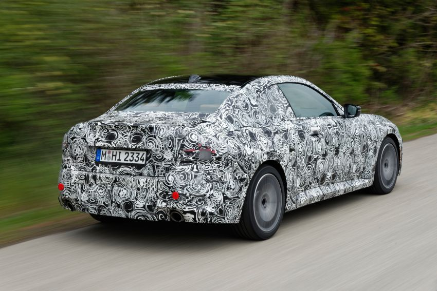 2022 BMW 2 Series Coupe officially teased before debut – M240i xDrive to lead variant range with 374 PS Image #1294230