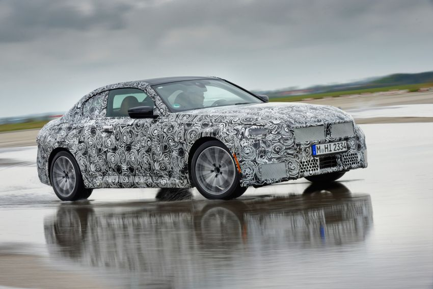 2022 BMW 2 Series Coupe officially teased before debut – M240i xDrive to lead variant range with 374 PS Image #1294231