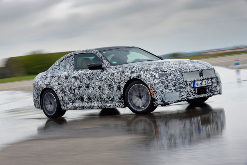 2022 BMW 2 Series Coupe officially teased before debut – M240i xDrive to lead variant range with 374 PS Image #1294232