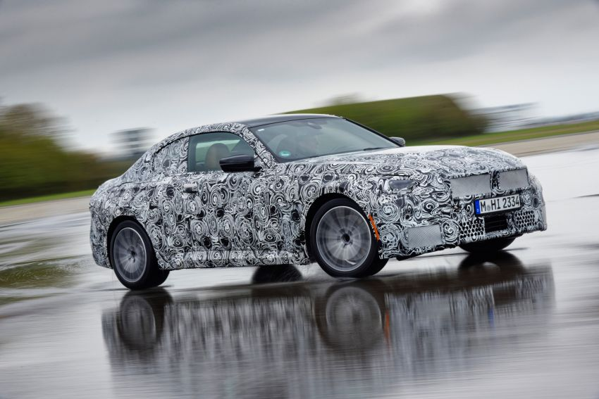 2022 BMW 2 Series Coupe officially teased before debut – M240i xDrive to lead variant range with 374 PS Image #1294233