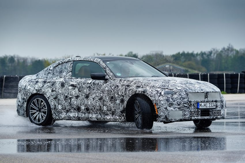 2022 BMW 2 Series Coupe officially teased before debut – M240i xDrive to lead variant range with 374 PS Image #1294235