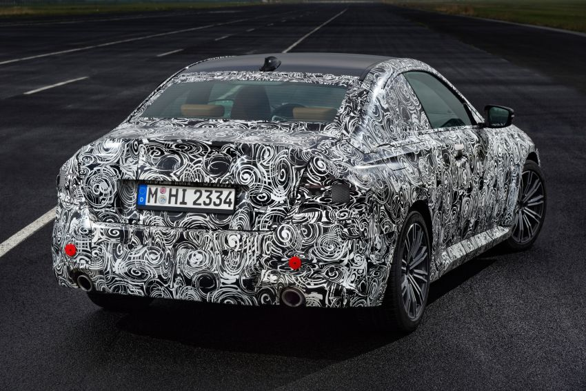 2022 BMW 2 Series Coupe officially teased before debut – M240i xDrive to lead variant range with 374 PS Image #1294251