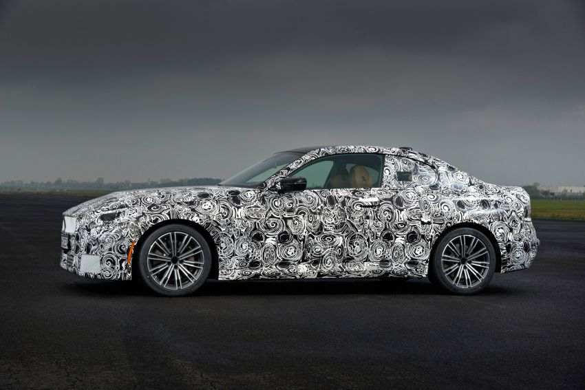 2022 BMW 2 Series Coupe officially teased before debut – M240i xDrive to lead variant range with 374 PS Image #1294254