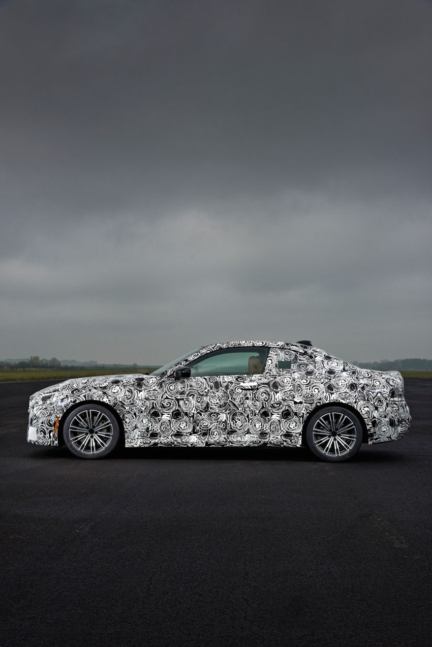2022 BMW 2 Series Coupe officially teased before debut – M240i xDrive to lead variant range with 374 PS Image #1294255