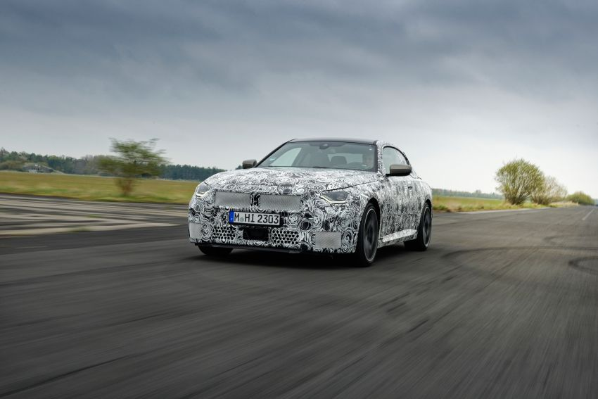 2022 BMW 2 Series Coupe officially teased before debut – M240i xDrive to lead variant range with 374 PS Image #1294258