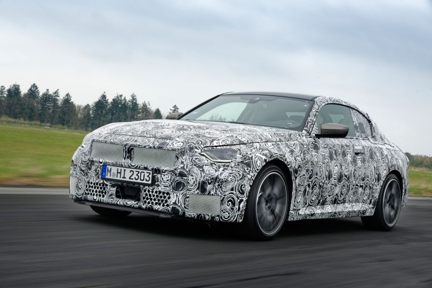 2022 BMW 2 Series Coupe officially teased before debut – M240i xDrive to lead variant range with 374 PS Image #1294259