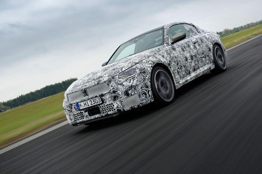 2022 BMW 2 Series Coupe officially teased before debut – M240i xDrive to lead variant range with 374 PS Image #1294262