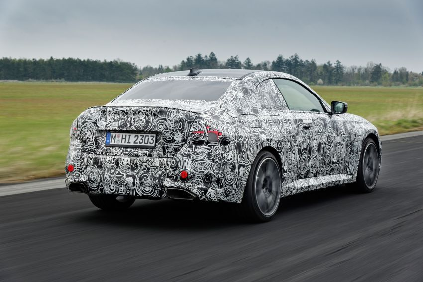 2022 BMW 2 Series Coupe officially teased before debut – M240i xDrive to lead variant range with 374 PS Image #1294266