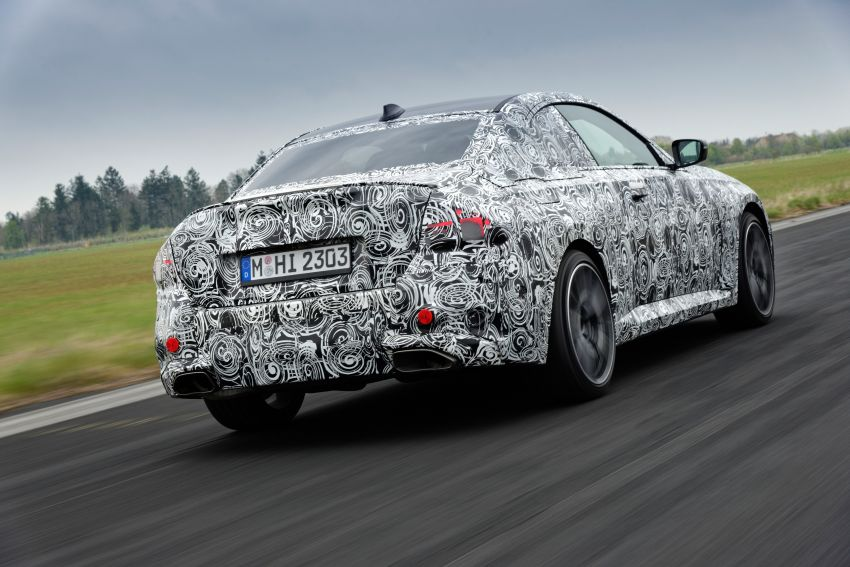 2022 BMW 2 Series Coupe officially teased before debut – M240i xDrive to lead variant range with 374 PS Image #1294267