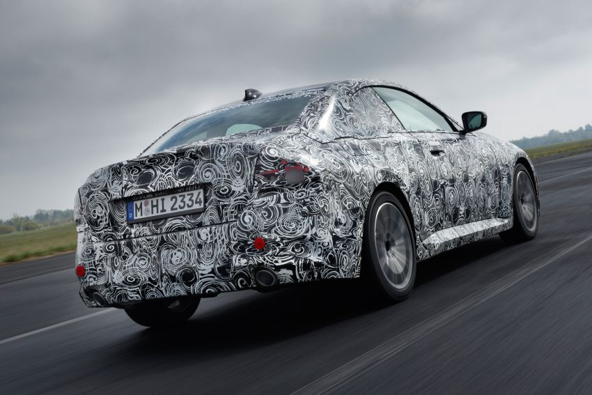 2022 BMW 2 Series Coupe officially teased before debut – M240i xDrive to lead variant range with 374 PS Image #1294201