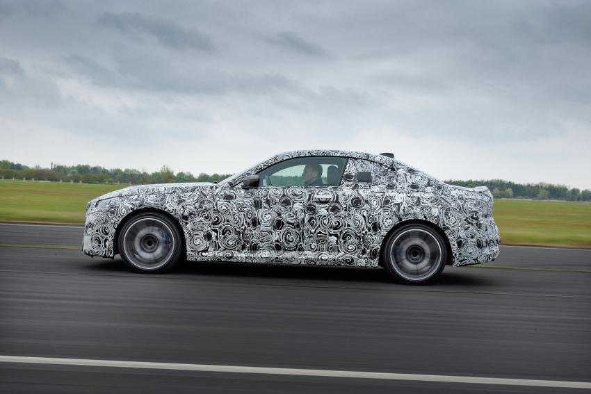 2022 BMW 2 Series Coupe officially teased before debut – M240i xDrive to lead variant range with 374 PS Image #1294271