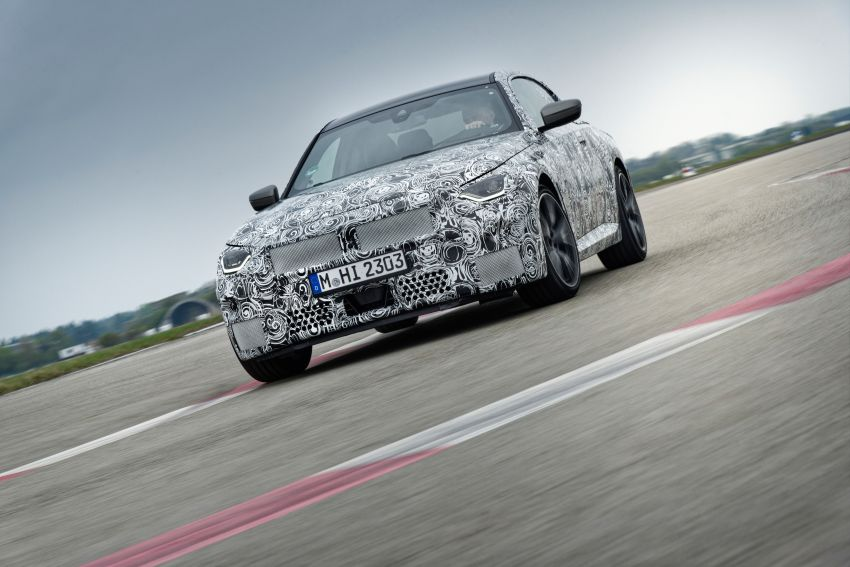 2022 BMW 2 Series Coupe officially teased before debut – M240i xDrive to lead variant range with 374 PS Image #1294272