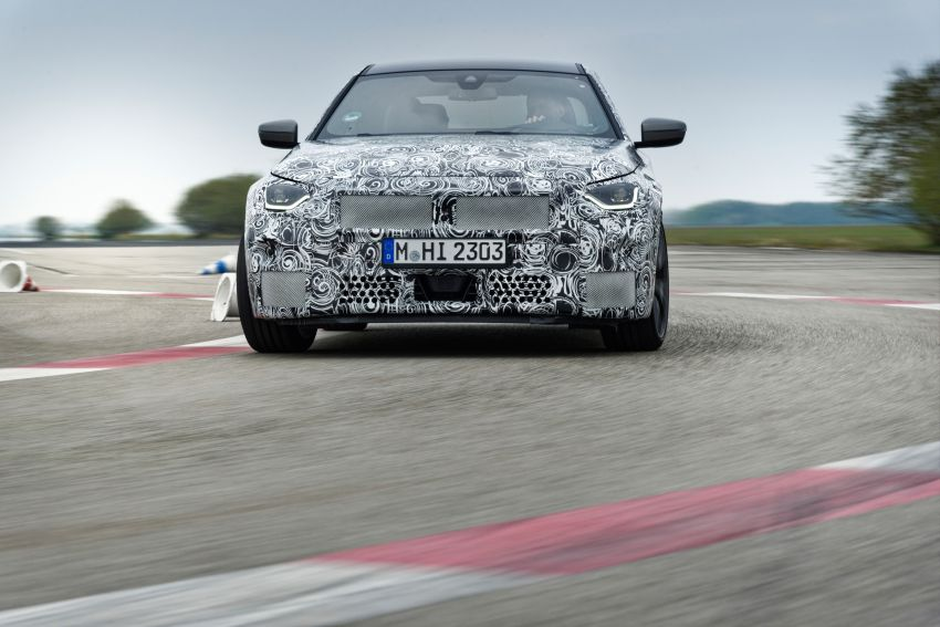 2022 BMW 2 Series Coupe officially teased before debut – M240i xDrive to lead variant range with 374 PS Image #1294277