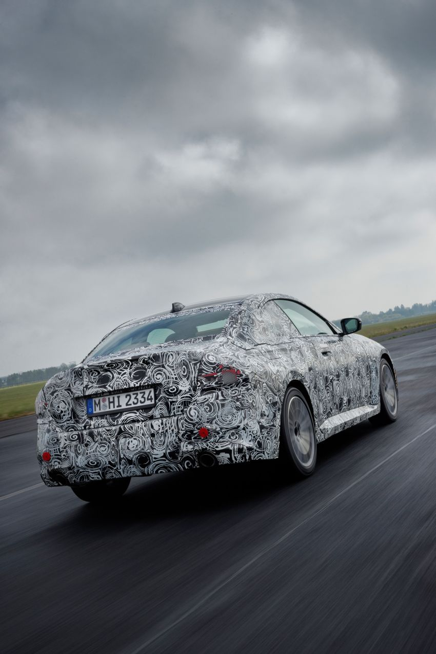 2022 BMW 2 Series Coupe officially teased before debut – M240i xDrive to lead variant range with 374 PS Image #1294202