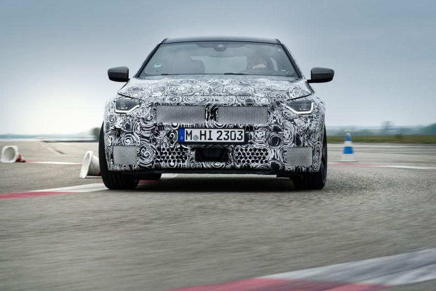 2022 BMW 2 Series Coupe officially teased before debut – M240i xDrive to lead variant range with 374 PS Image #1294278