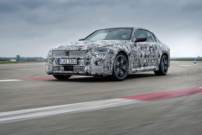 2022 BMW 2 Series Coupe officially teased before debut – M240i xDrive to lead variant range with 374 PS Image #1294284