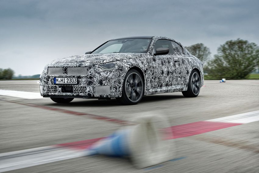 2022 BMW 2 Series Coupe officially teased before debut – M240i xDrive to lead variant range with 374 PS Image #1294286