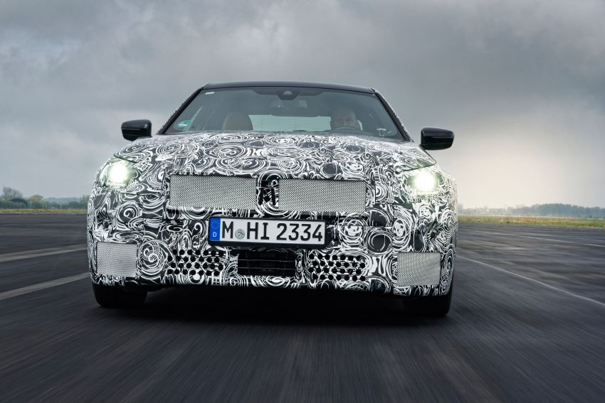 2022 BMW 2 Series Coupe officially teased before debut – M240i xDrive to lead variant range with 374 PS Image #1294203