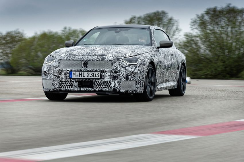 2022 BMW 2 Series Coupe officially teased before debut – M240i xDrive to lead variant range with 374 PS Image #1294288