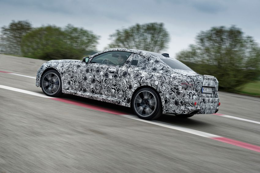 2022 BMW 2 Series Coupe officially teased before debut – M240i xDrive to lead variant range with 374 PS Image #1294289