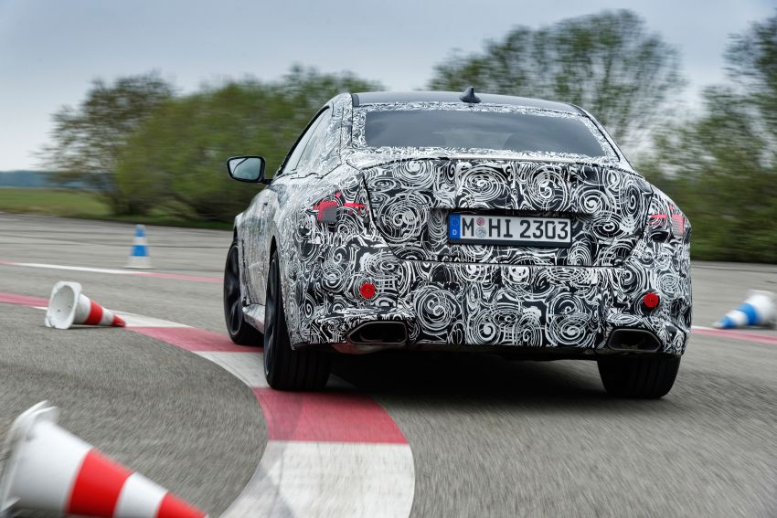 2022 BMW 2 Series Coupe officially teased before debut – M240i xDrive to lead variant range with 374 PS Image #1294290