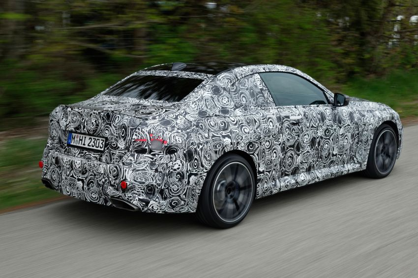 2022 BMW 2 Series Coupe officially teased before debut – M240i xDrive to lead variant range with 374 PS Image #1294295