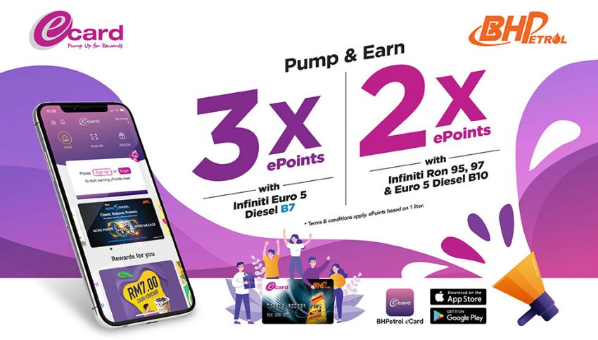AD: Earn up to three times ePoints when you fuel up at BHPetrol stations – redeemable for fuel/merchandise Image #1294566