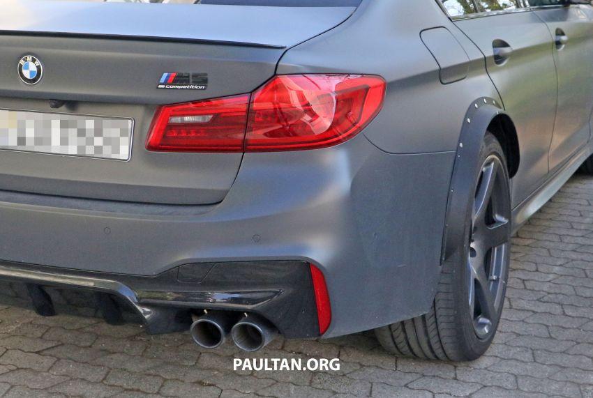 SPYSHOTS: BMW M5 mule – 50th anniversary variant? Image #1292065