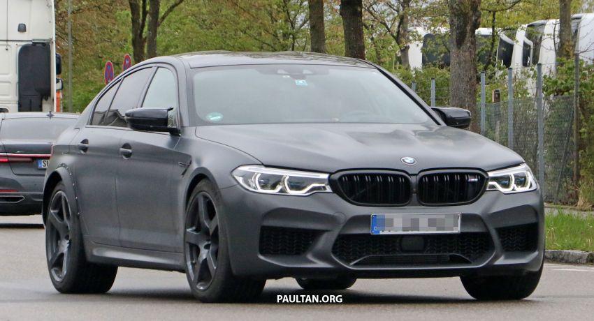 SPYSHOTS: BMW M5 mule – 50th anniversary variant? Image #1292071