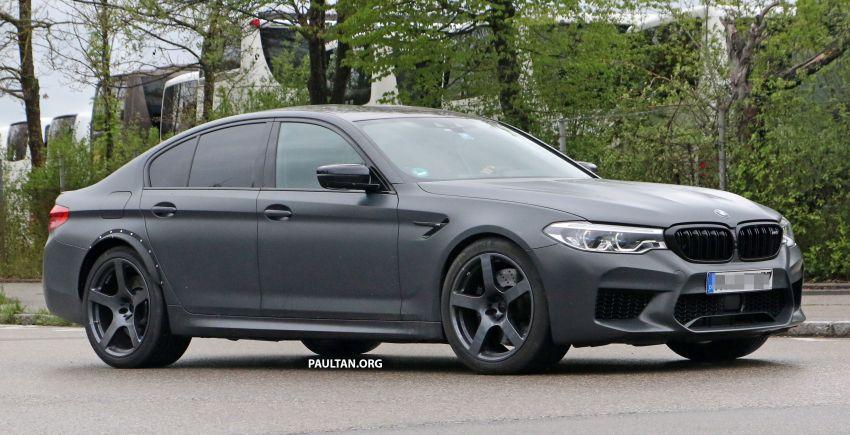 SPYSHOTS: BMW M5 mule – 50th anniversary variant? Image #1292074