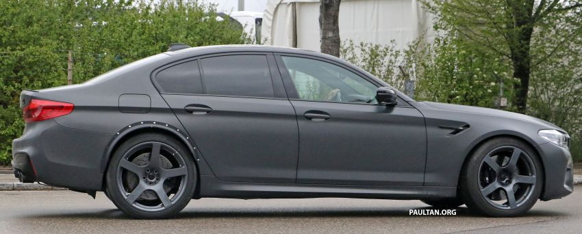 SPYSHOTS: BMW M5 mule – 50th anniversary variant? Image #1292081