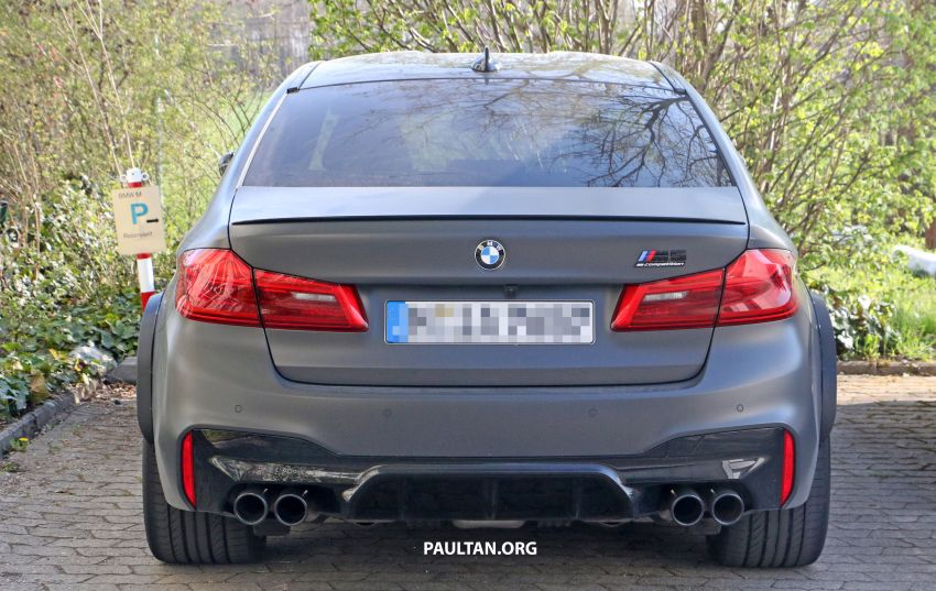 SPYSHOTS: BMW M5 mule – 50th anniversary variant? Image #1292036