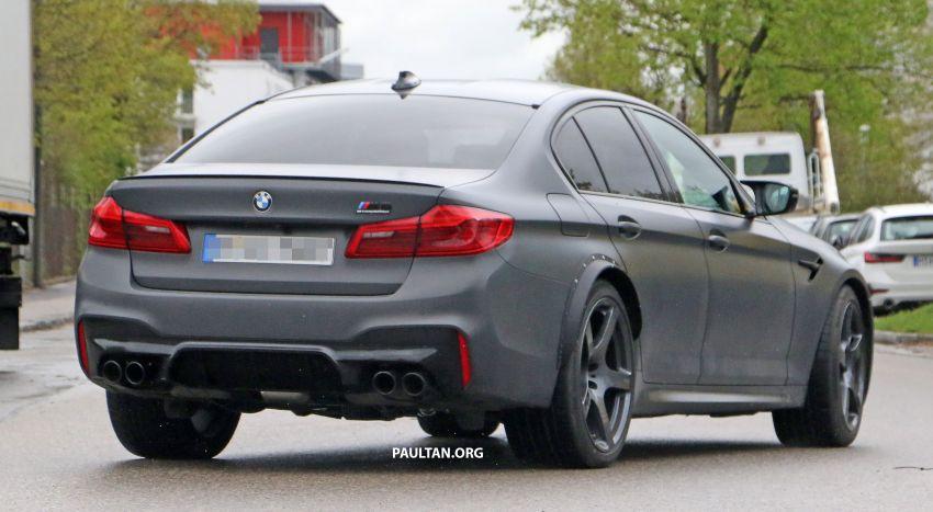 SPYSHOTS: BMW M5 mule – 50th anniversary variant? Image #1292087