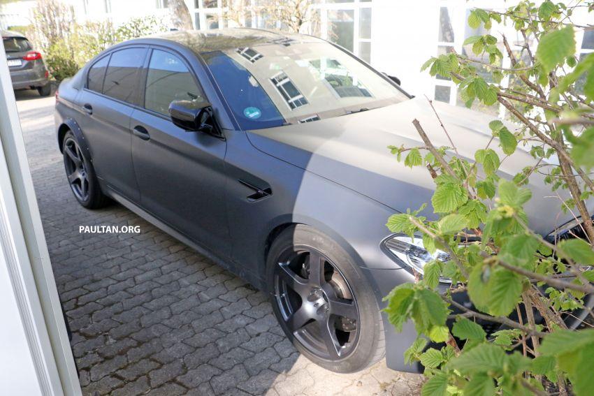 SPYSHOTS: BMW M5 mule – 50th anniversary variant? Image #1292042