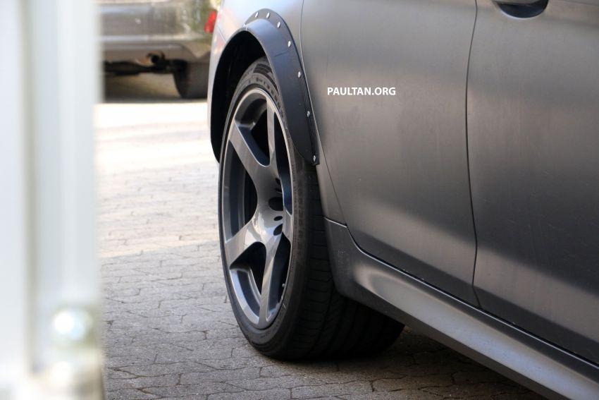 SPYSHOTS: BMW M5 mule – 50th anniversary variant? Image #1292045