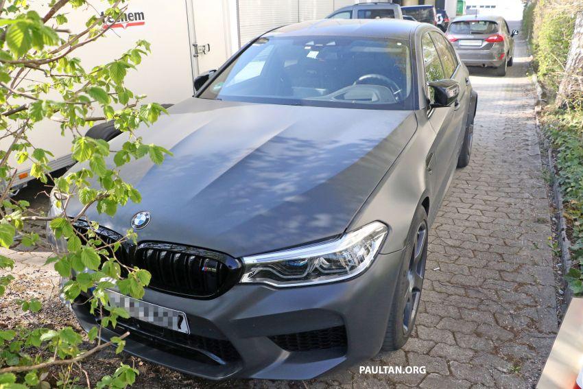 SPYSHOTS: BMW M5 mule – 50th anniversary variant? Image #1292051