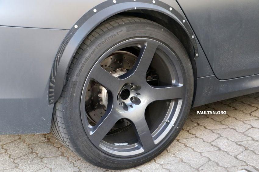 SPYSHOTS: BMW M5 mule – 50th anniversary variant? Image #1292055