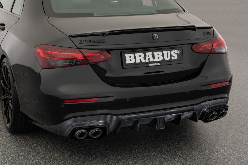 Brabus 800 revealed – tuned Mercedes-AMG E63S 4Matic+ with 800 PS and 1,000 Nm; 0-100 km/h in 3s Image #1292217