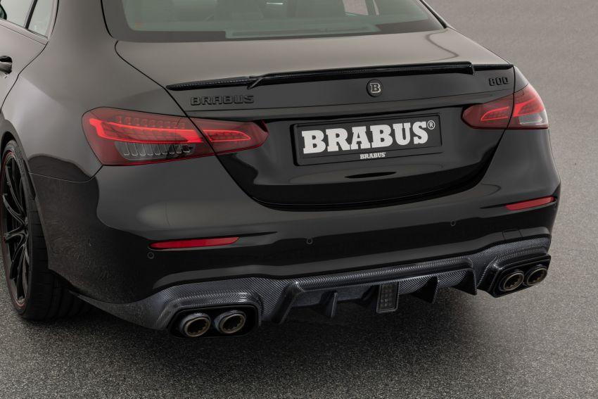 Brabus 800 didedah – Mercedes-AMG E63S 4Matic+ yang dipertingkat sehingga dapat hasilkan 800 PS Image #1292600