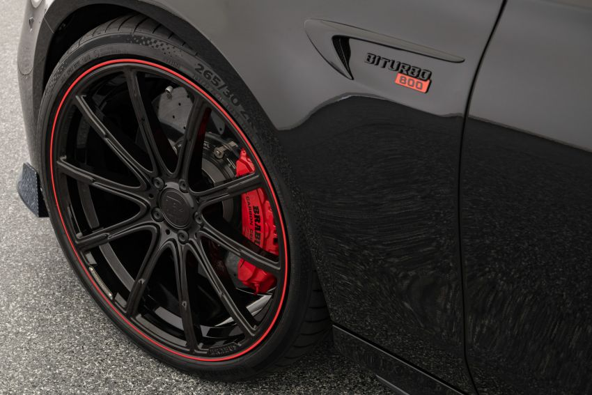 Brabus 800 revealed – tuned Mercedes-AMG E63S 4Matic+ with 800 PS and 1,000 Nm; 0-100 km/h in 3s Image #1292225