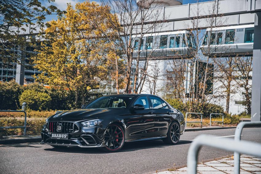 Brabus 800 revealed – tuned Mercedes-AMG E63S 4Matic+ with 800 PS and 1,000 Nm; 0-100 km/h in 3s Image #1292252