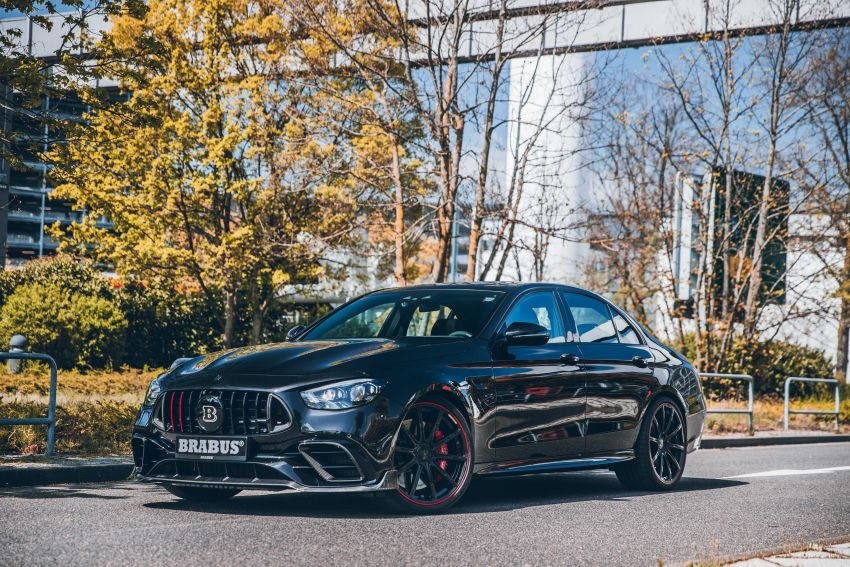 Brabus 800 revealed – tuned Mercedes-AMG E63S 4Matic+ with 800 PS and 1,000 Nm; 0-100 km/h in 3s Image #1292254