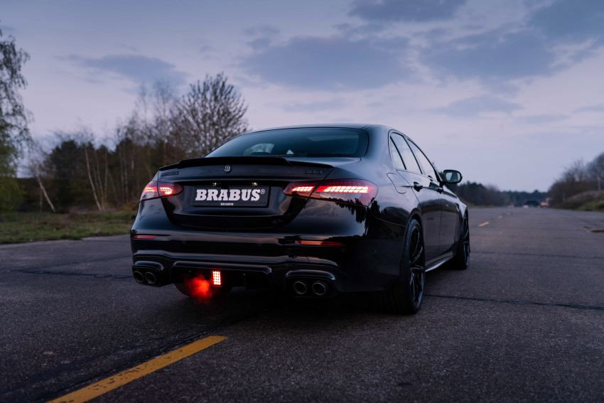 Brabus 800 revealed – tuned Mercedes-AMG E63S 4Matic+ with 800 PS and 1,000 Nm; 0-100 km/h in 3s Image #1292269