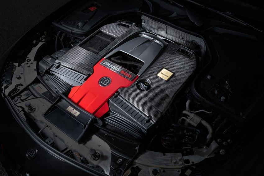 Brabus 800 didedah – Mercedes-AMG E63S 4Matic+ yang dipertingkat sehingga dapat hasilkan 800 PS Image #1292592